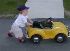 car pushing