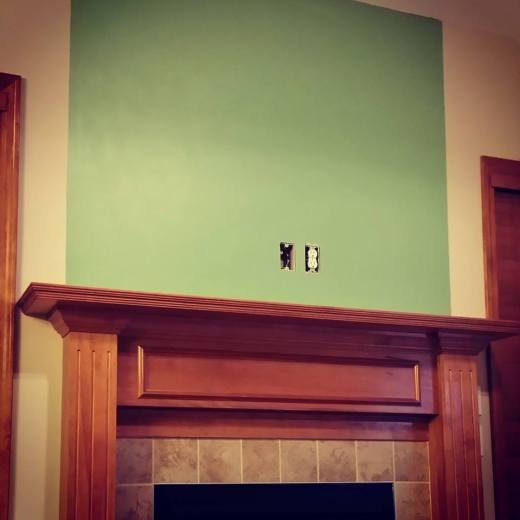 Fireplace Green 2015